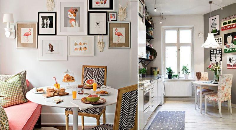 Какие картины подходят для кухни - о композиции - фото