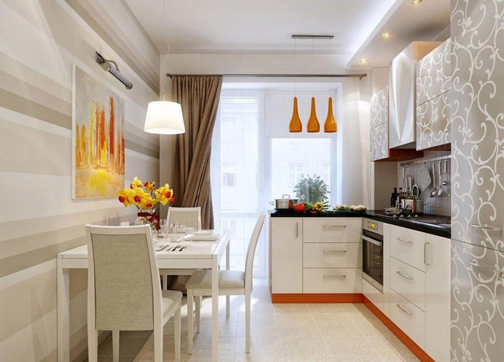 Какие картины подходят для кухни - свет - фото