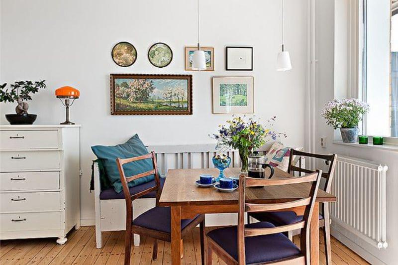 Какую картину повесить на кухне под стиль интерьера - фото