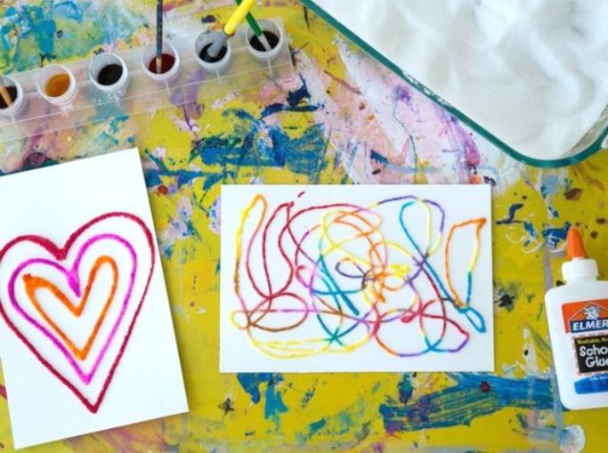 Польза рисования для ребенка - помощь в рисовании - фото