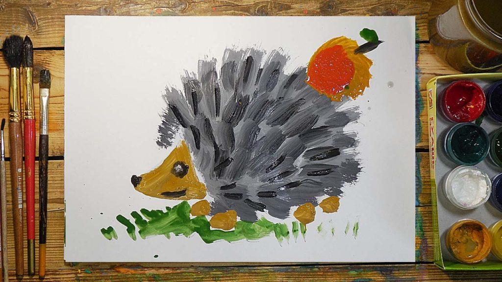 Польза рисования для ребенка - когда начинать рисовать - фото