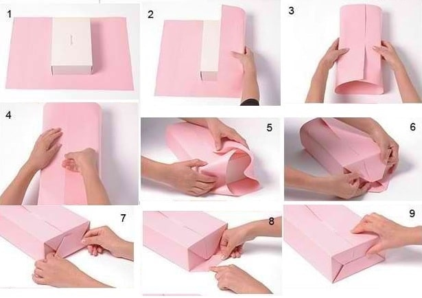 Упаковка картин своими руками - 1 способ - фото
