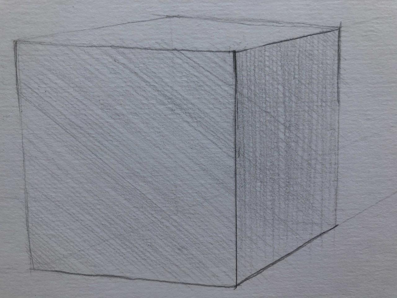 Виды штриховок в рисунке - многослойная штриховка - фото