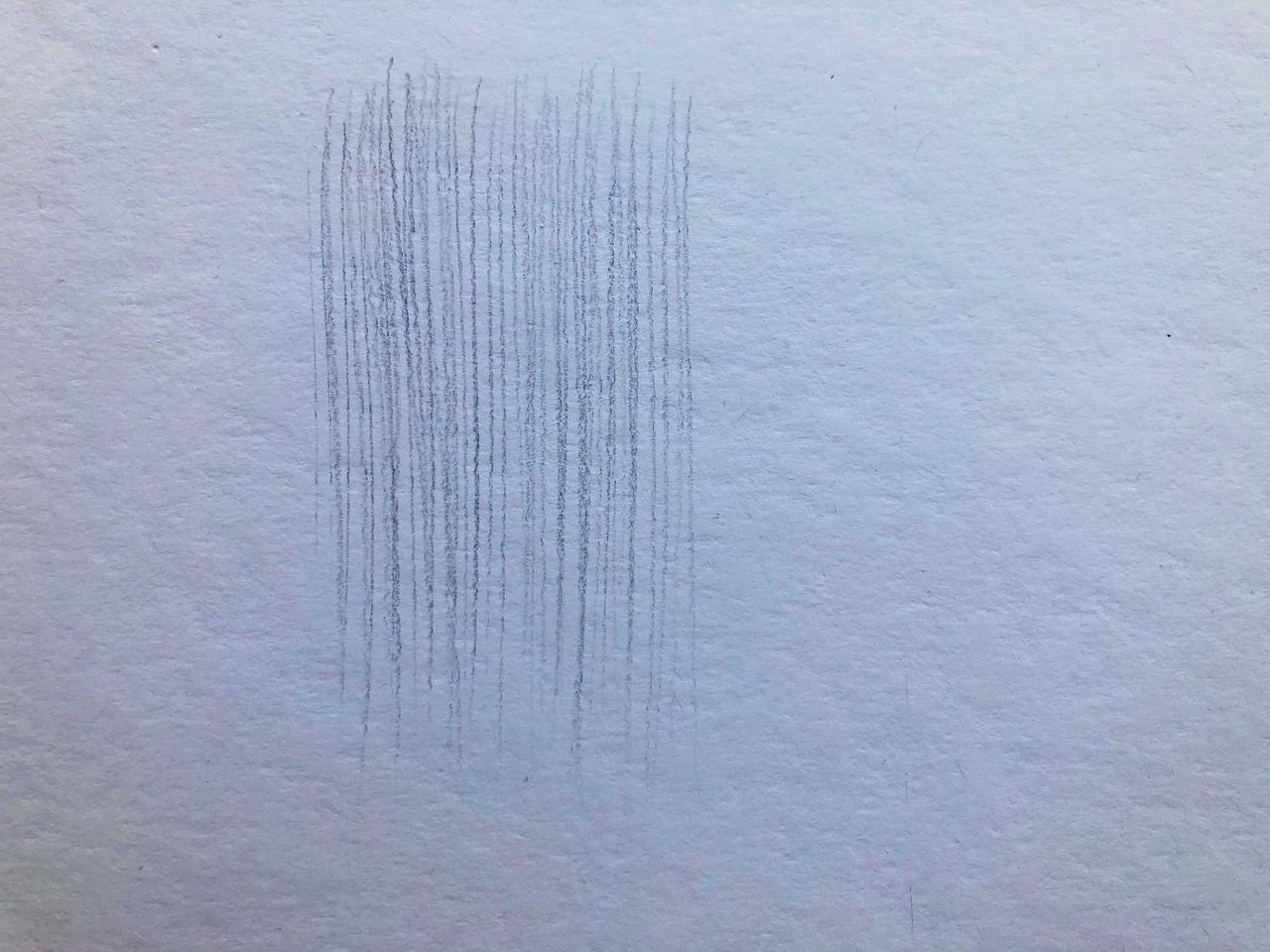Виды штриховок в рисунке - параллельная штриховка - фото