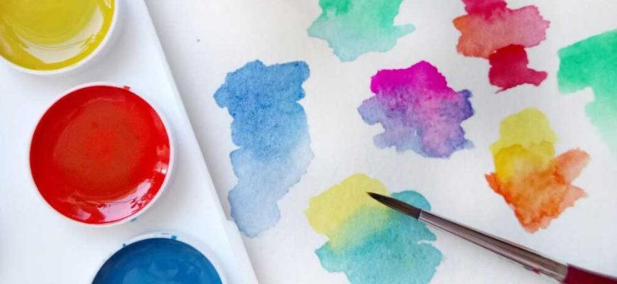 Из чего делают акварельные краски - фото