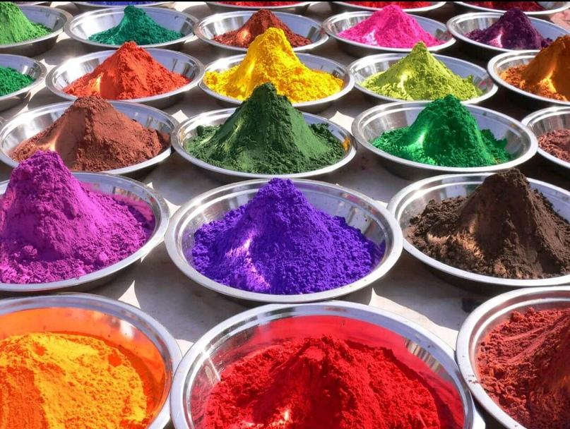 Из чего делают акварельные краски - изготовление красок - фото