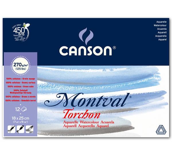 Какая акварельная бумага лучше - CANSON - фото