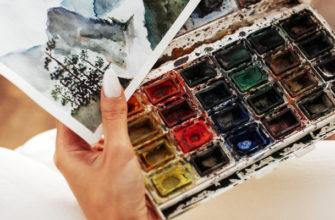 Виды акварели для рисования - фото