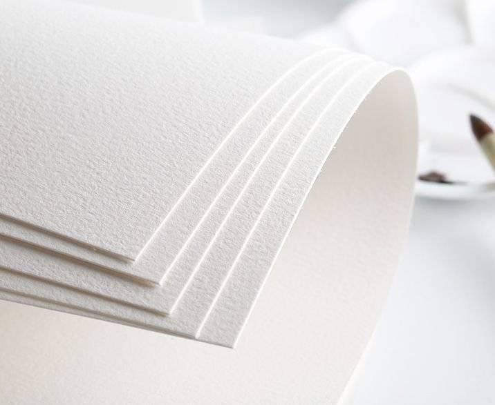 Виды акварельной бумаги - среднее зерно - фото