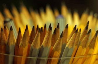 Всё о мягкости и твердости карандашей - фото