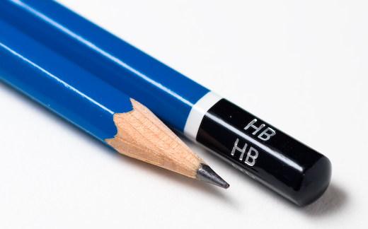 Всё о мягкости и твердости карандашей - карандаш HB - фото