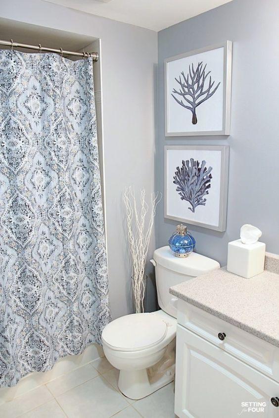 Картины для оформления ванной и туалета - нейтральные картины - фото