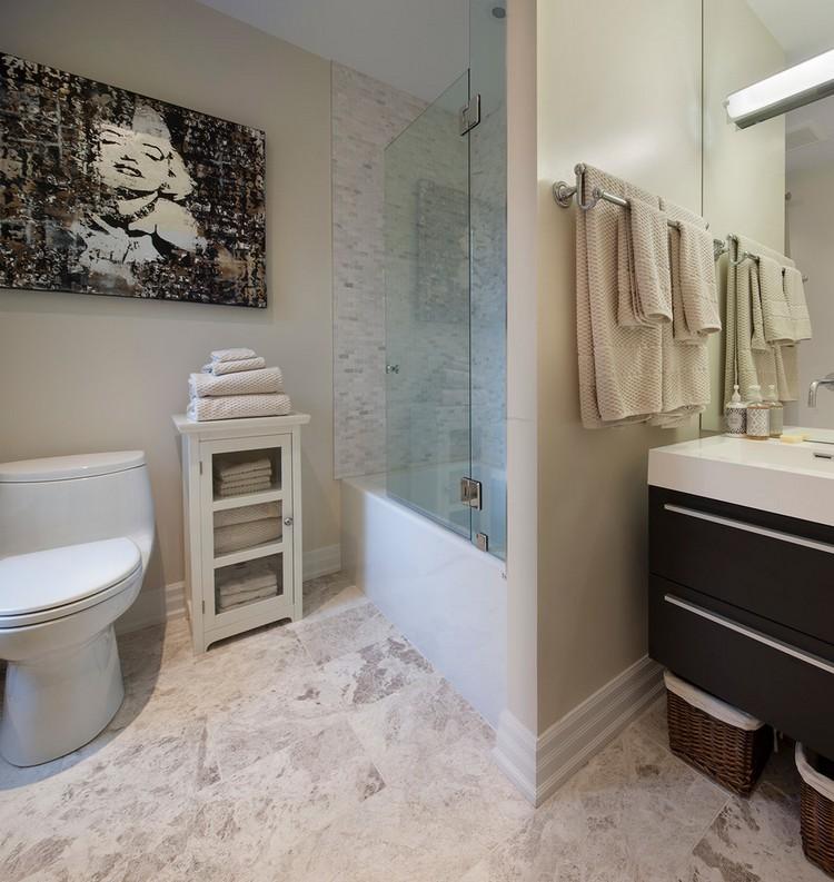 Картины для оформления ванной и туалета - фото