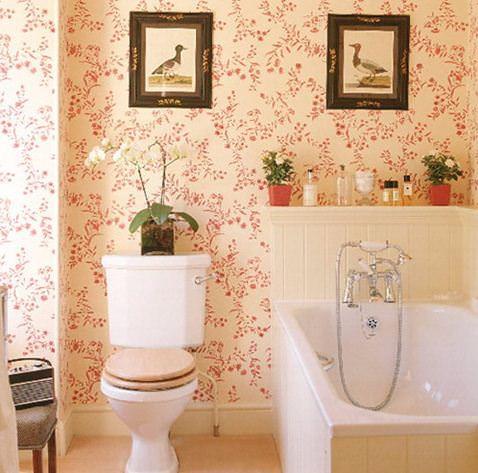 Картины для оформления ванной и туалета - парные картины - фото