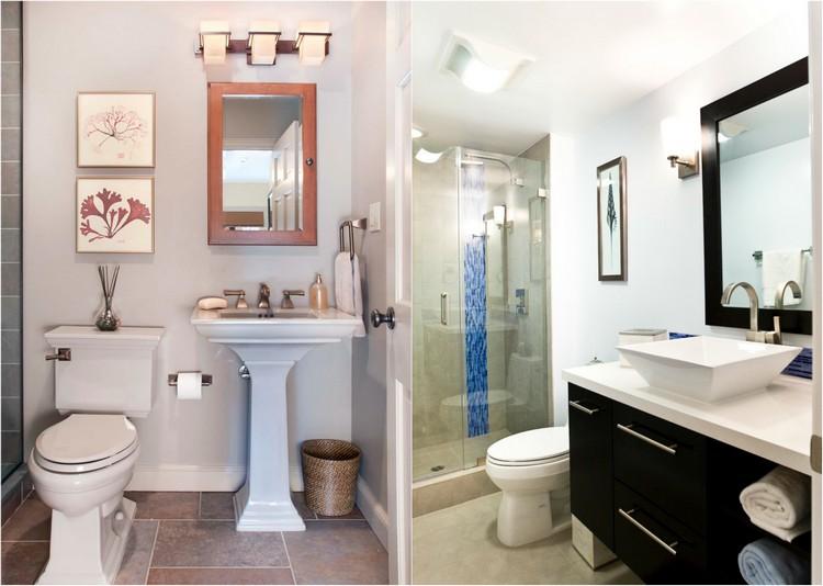 Картины для оформления ванной и туалета - вертикальные картины - фото