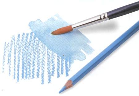 Материалы для рисования акварелью - акварельные карандаши - фото