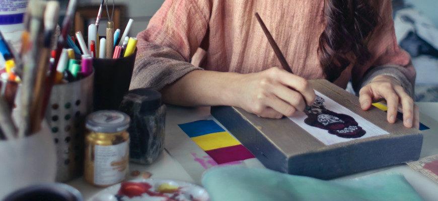 Материалы для рисования акварелью - фото