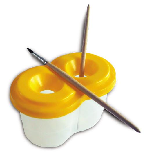 Материалы для рисования акварелью - стаканчики - фото