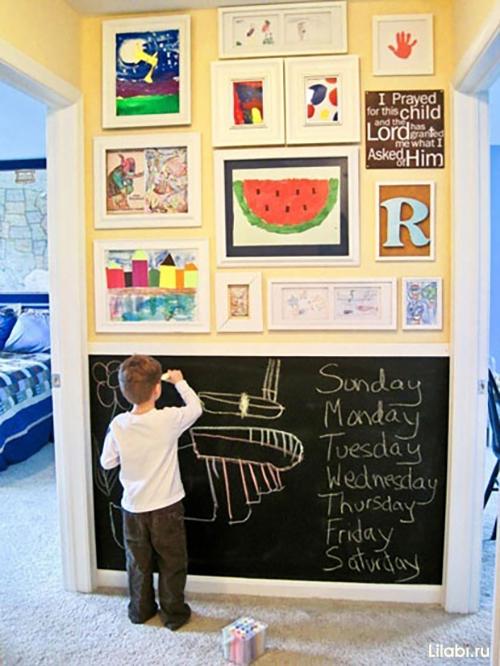Детские картины для интерьера - для мальчика - фото