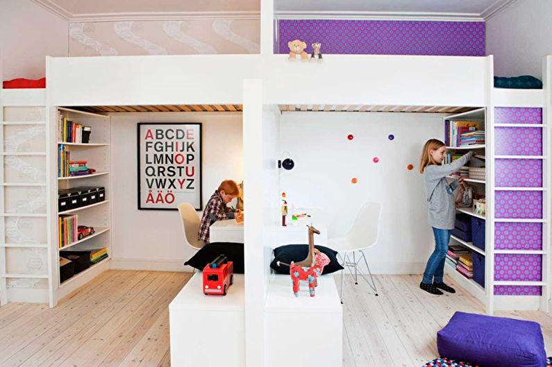 Детские картины для интерьера - для мальчика и девочки - фото