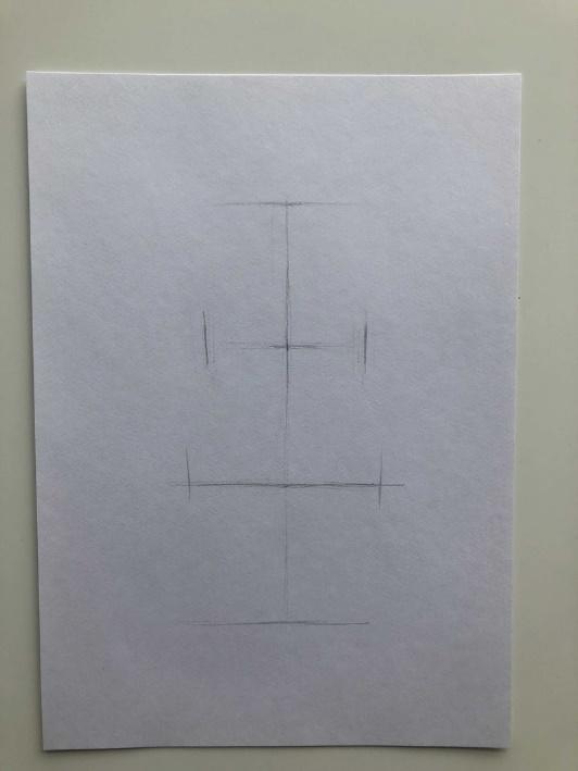 Как нарисовать кактус карандашом поэтапно - мультяшный 1 этап - фото