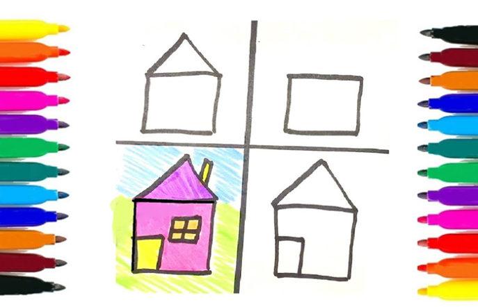 Как научить ребенка рисовать - фломастеры для рисования - фото