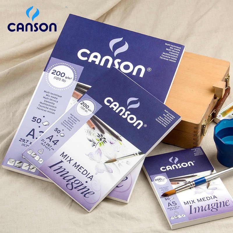 Какая бумага для гуаши лучше - бумага CANSON - фото