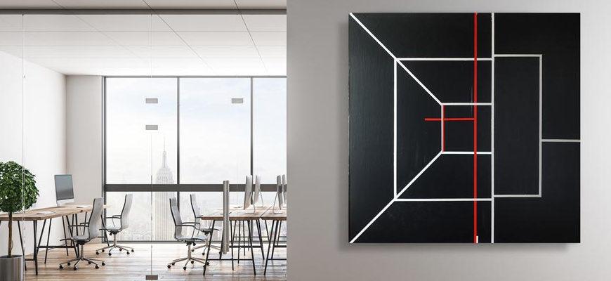 Какую картину повесить в офисе - фото