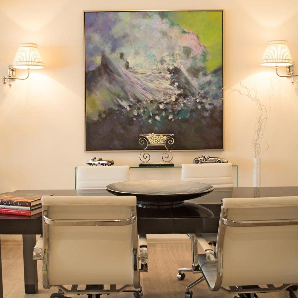 Картины для интерьера офиса - фото