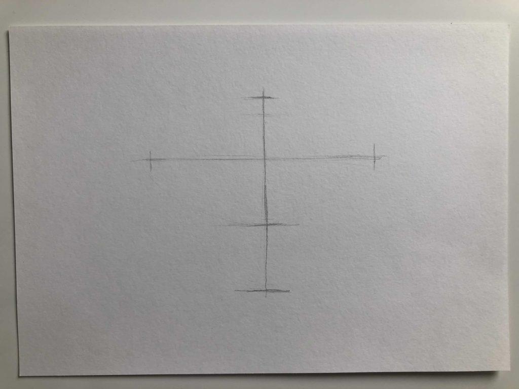 Как нарисовать апельсин карандашом поэтапно - апельсин в разрезе 1 этап - фото