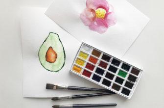 Как научиться рисовать акварелью - фото