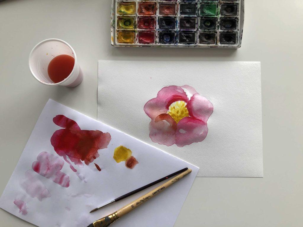Как научиться рисовать акварелью - разная бумага - фото