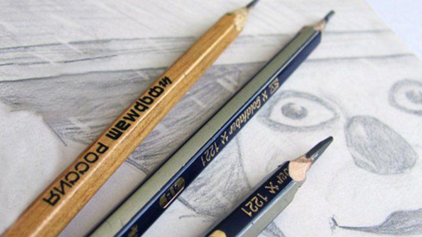 Как определить твердость карандаша - фото