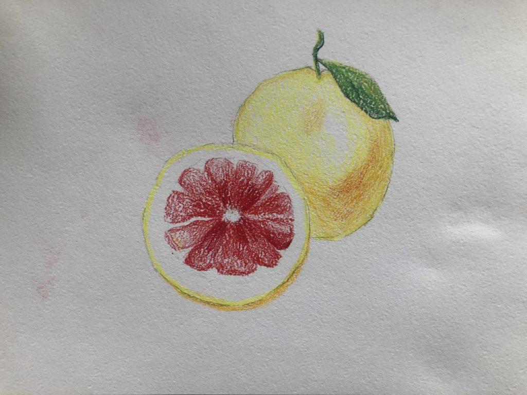 Как рисовать акварельными карандашами - 3 этап - фото