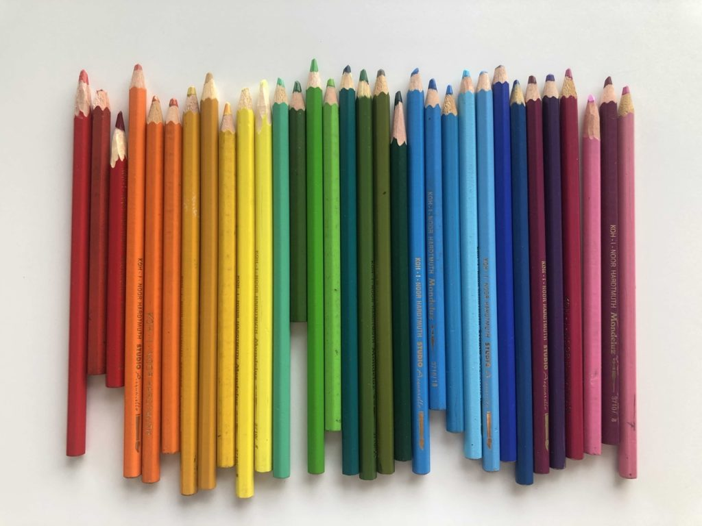 Как использовать акварельные карандаши - фото