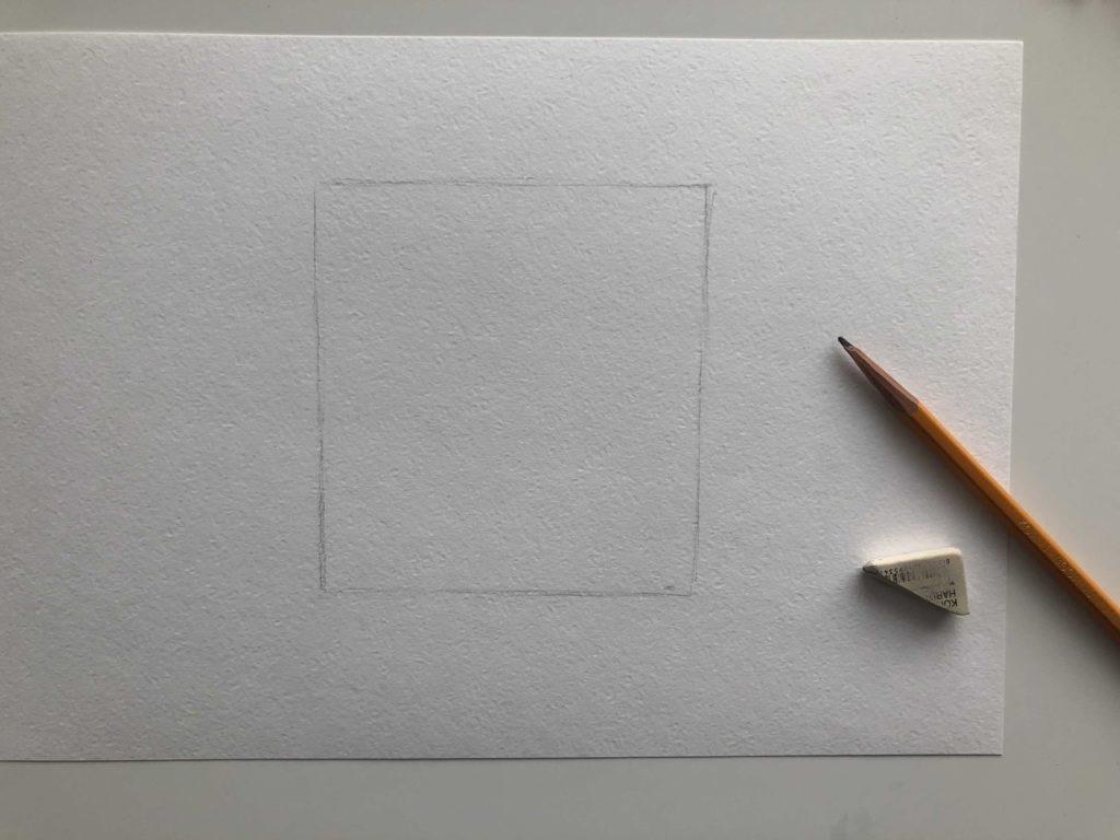 Как рисовать акварельными карандашами - подготовка - фото