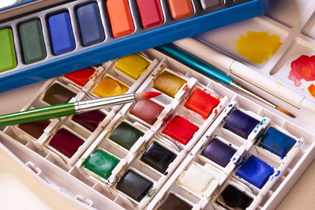 Акварельные краски в домашних условиях - фото