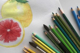 Что такое акварельные карандаши - фото