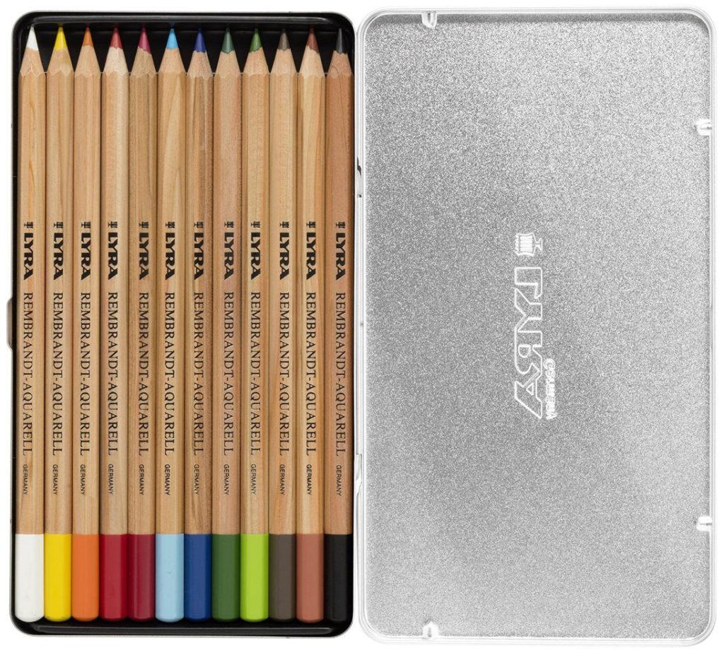 Лучшие марки акварельных карандашей - LYRA «Rembrandt» - фото