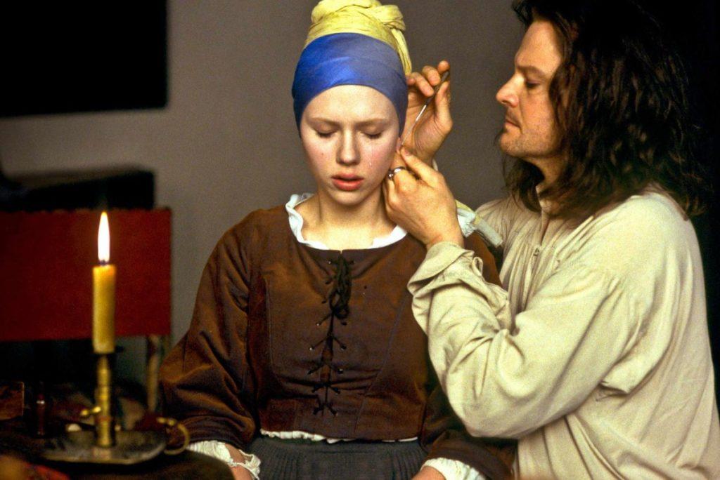 Фильмы про художников и искусство - «Девушка с жемчужной сережкой», 2003