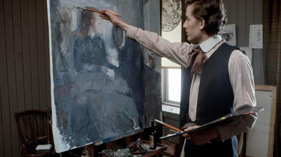 Фильмы про художников и искусство - «Эдвард Мунк», 1974