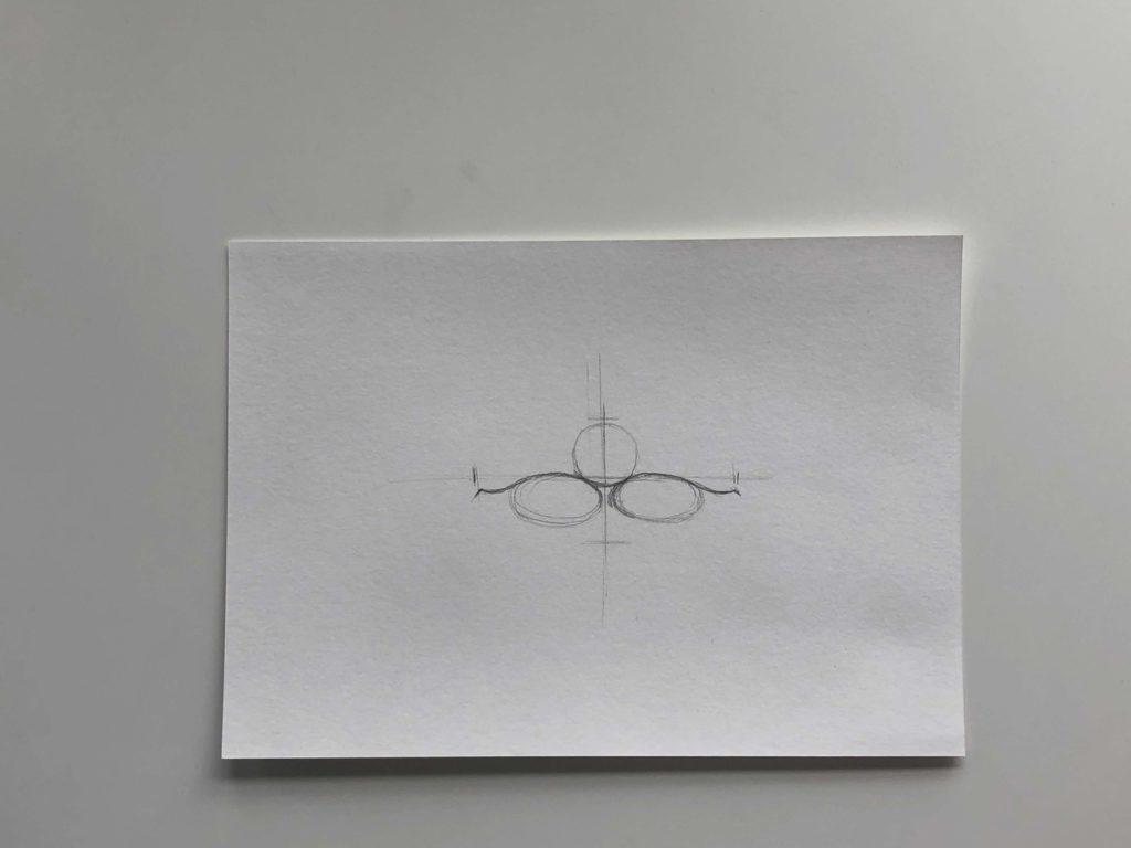 Простой способ нарисовать пухлые губы - этап 1 - фото