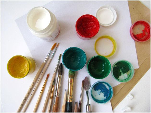 Как научиться рисовать гуашью - что такое гуашь - фото