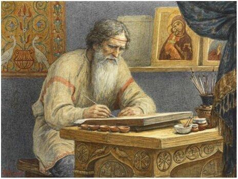 Картину «пишут» или «рисуют» - историческая справка - фото