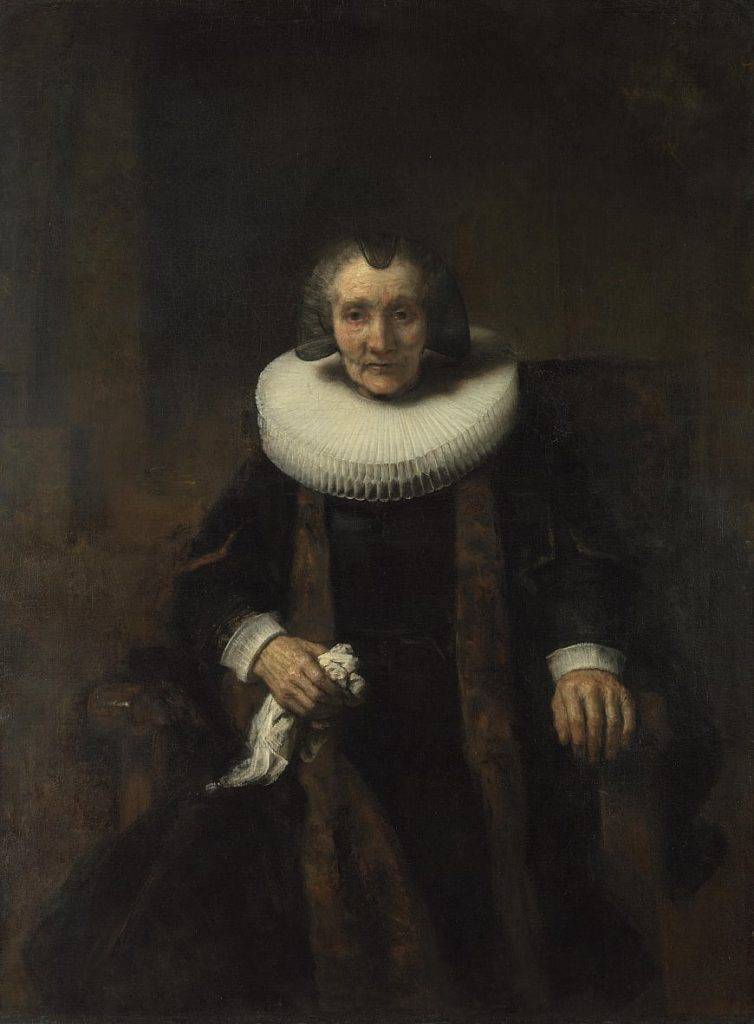 Серый цвет в живописи Рембрандта ван Рейна - фото