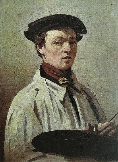 Серый цвет в живописи Жана-Батист Камиля Коро - фото