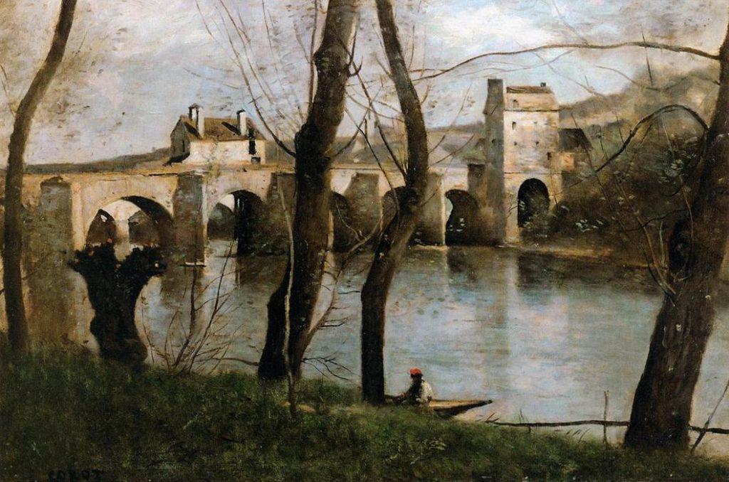 Серый цвет в живописи Жана-Батист Камиля Коро - фото 2
