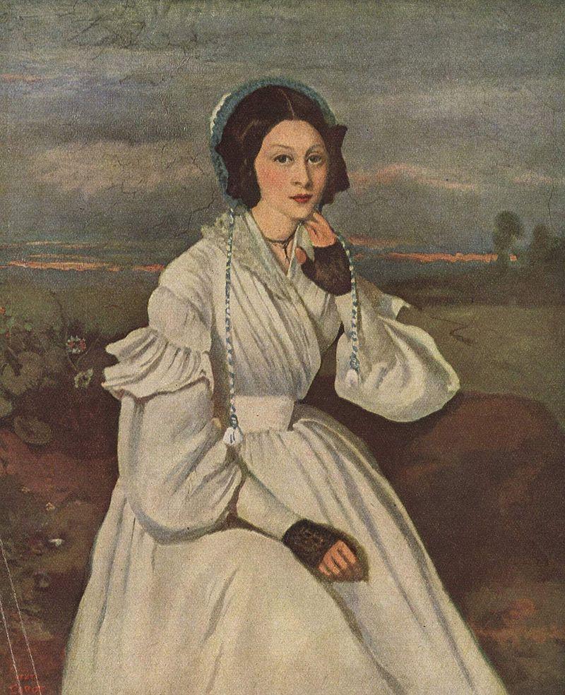 Серый цвет в живописи Жана-Батист Камиля Коро - фото 3