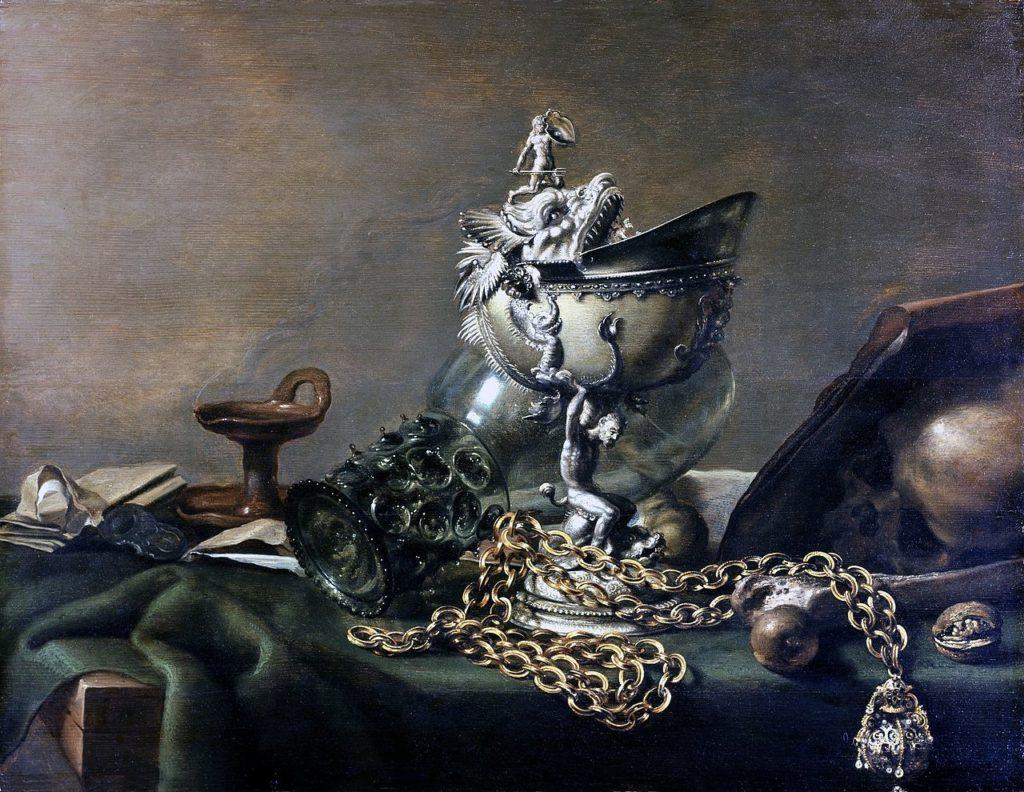 Известные картины в серых тонах - Питер Клас - фото