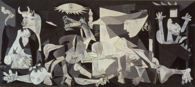 Известные картины в серых тонах - Пабло Пикассо - фото